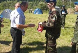 """открытие военно-полевых сборов """"горный стрелок"""""""